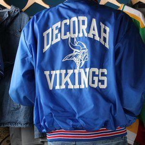 Vintage Decorah Viking Varsity Jacket